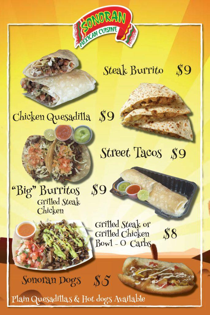 Sonoran Mexican Food